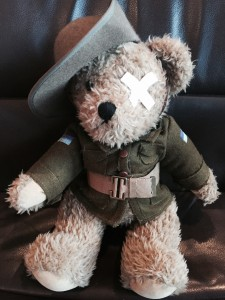 Anzac Ted bear
