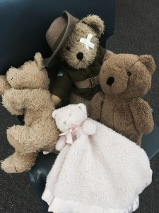 The kids at Brooklyn Public School brought in their own teddies - how sweet!