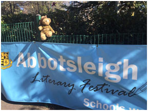 Ted debuting at the 2016 Abbotsleigh Literary Festival!
