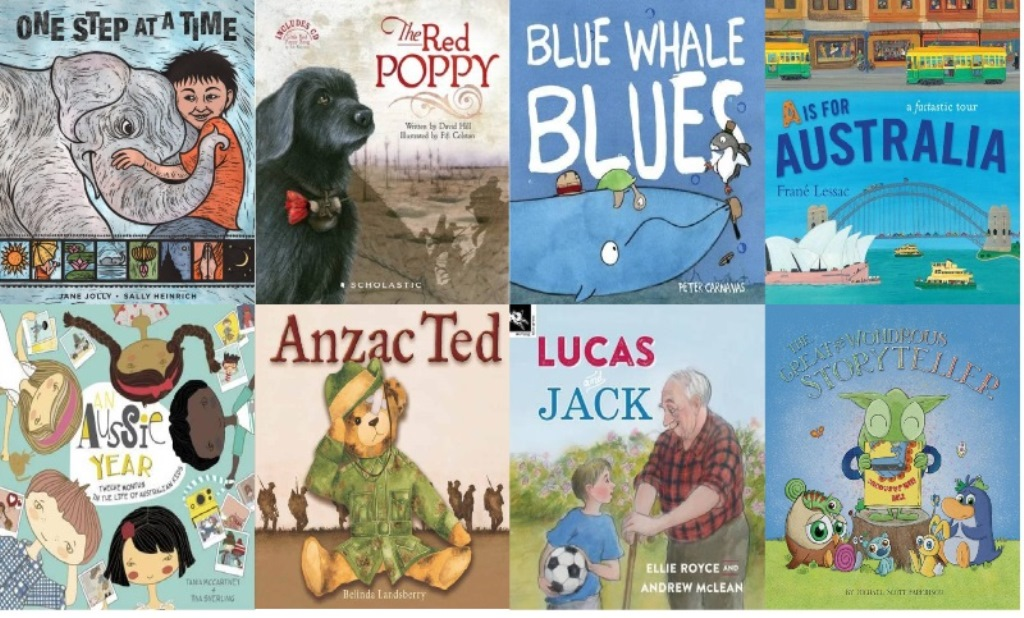 2016 WA Young Readers' Book Awards - some of the shortlisted titles