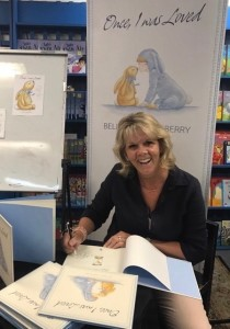 Signing books at the Children's Bookshop Beecroft.